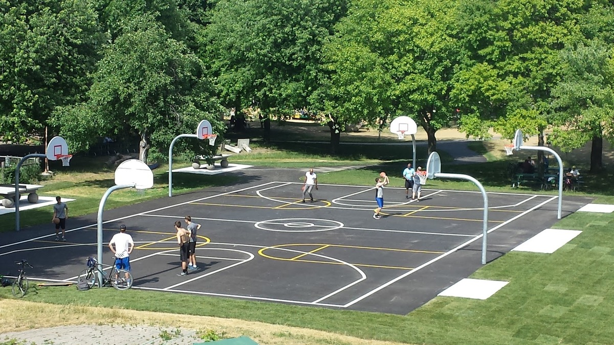 Christie Pits Basketball Court City Of Toronto