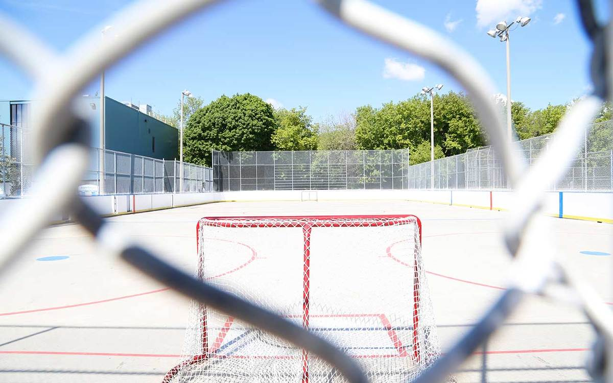Jimmie Simpson Park Ice Rink @ City of Toronto
