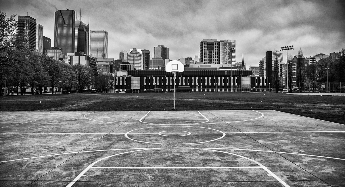 Moss Park Basketball Court City Of Toronto